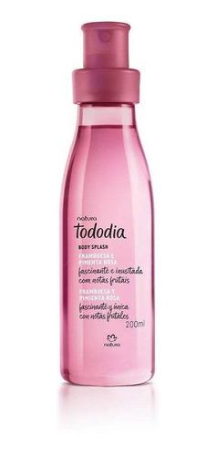 Spray Frambuesa Y Pimienta Rosa Producto Natura Tododia 200m