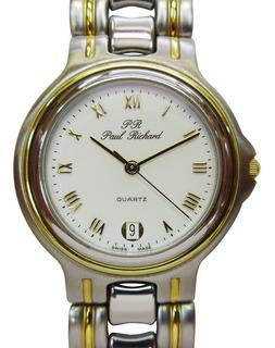Reloj Paul Richard 2430 Para Hombre De Origen Suizo