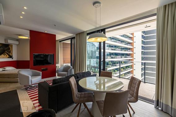 Apartamento Para Aluguel - Vila Olímpia, 1 Quarto, 68 - 893018535