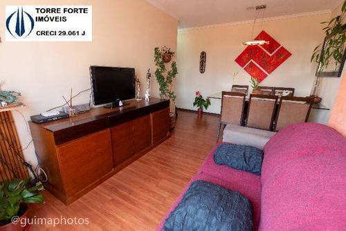 Imagem 1 de 14 de Lindo Apartamento Com 3 Dormitórios E 1 Vaga Na Mooca - 2489