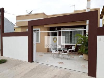 Casa Linear Independente, Residencial Rio Das Ostras, Rio Das Ostras. - Ca0944