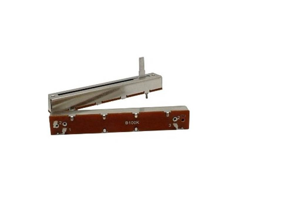 Potenciometo Desl 100kb Sl45v (eixo 15mm-perc 45 Kit C/5 Pçs