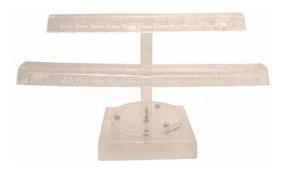 Expositor Para Piercing Giratorio 56 Joias Modelos Variados