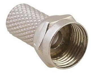 Conector De Rosca Tipo F Para Cable Coaxial Rg6 153203 Surte
