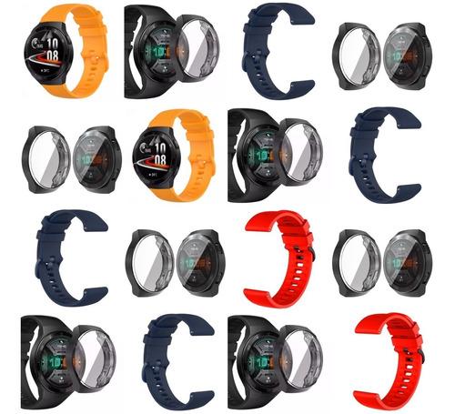 Protector De Pantalla + Pulso Para Huawei Watch Gt 2e