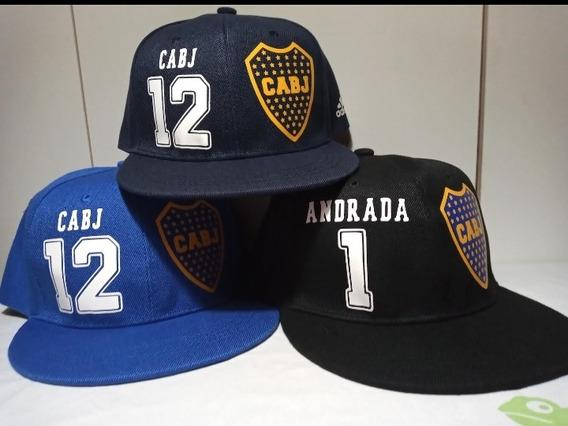 Gorra Plana Snapback Boca Juniors