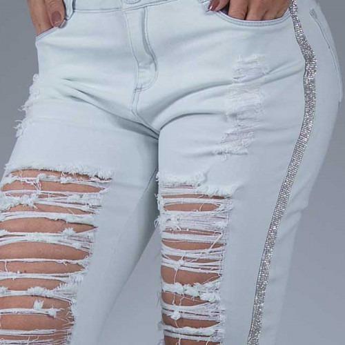 Calça Jeans Feminina Pitbull Jeans C/ Bojo Bumbum - Original