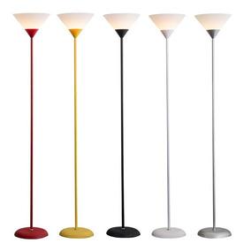 Luminária Chão 1,8m Pedestal Coluna Abajur Led Spot Refletor