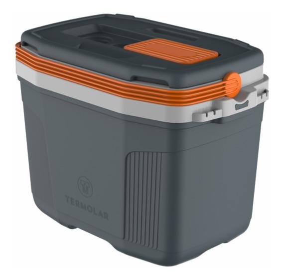 Caixa Termica Cooler Termolar 32 Litros Suv Cinza Original