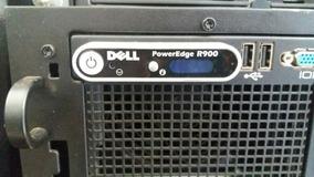 Servidor Dell Power Edge R900, 16 Memória De 2gb, 2 Hd 146gb