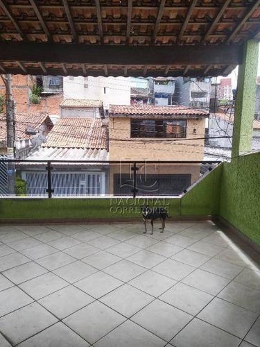 Sobrado Com 3 Dormitórios À Venda, 303 M² Por R$ 565.000 - Jardim Teles De Menezes - Santo André/sp - So3614
