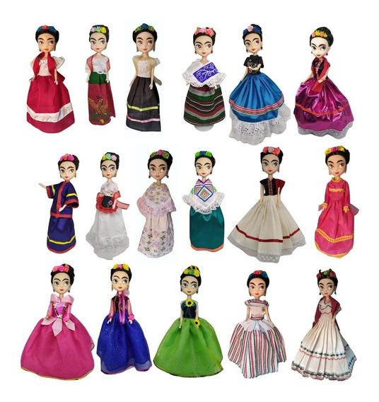 Frida Kahlo Muñeca Vinil Nacional Artesania Regional Princes