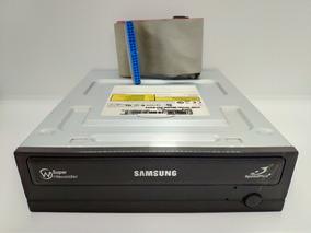 4 Drivers Cd/dvd-r Samsung Sh-s223c Sata 3 + Cabo Flat Ide