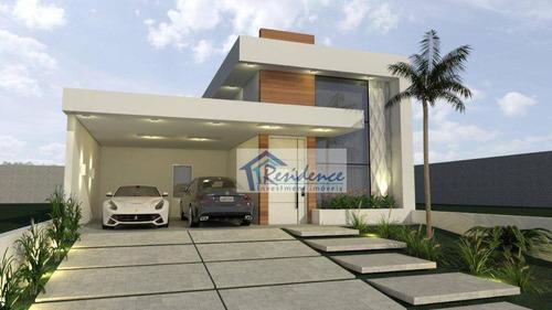 Casa Com 3 Dormitórios À Venda, 186 M² Por R$ 1.080.000,00 - Piemonte - Indaiatuba/sp - Ca0846