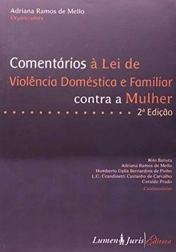 Lei De Violência Doméstica E Familiar Contra A Mulher