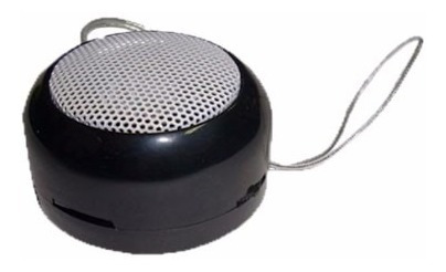 Mobile Speaker Sd-tf12 Mini Alto-falante C/ Cabo Usb E Fone