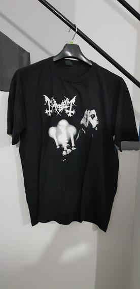 Camiseta Mayhem Dead - Live In Leipzig