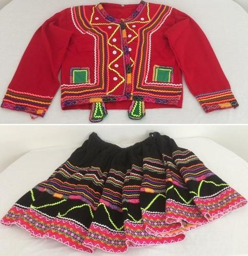 Juego Disfraz Danza Valicha De Cuzco