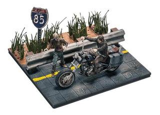 Walking Dead Daryl With Chopper Construction Set Mcfarlane