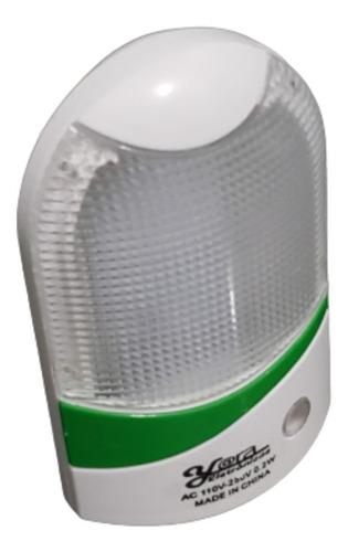 Imagem 1 de 5 de Kit C/8 Luz Noturna Tomada Mini Luminária Super Led E Sensor