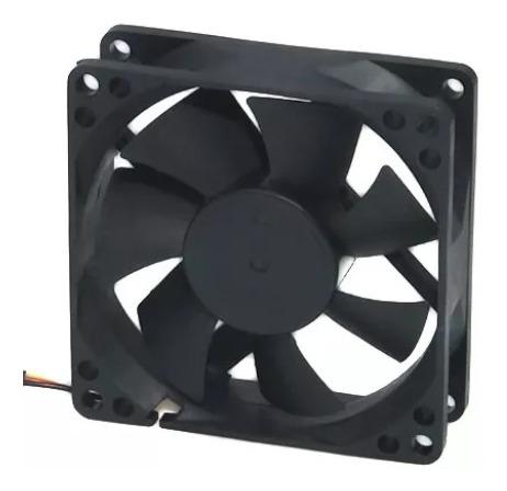 Micro Ventilador 80x80x25 12v Para Chocadeira