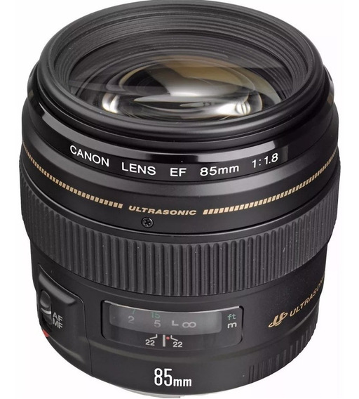 Lente Ef 85mm F/1.8 Usm Canon