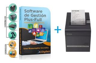 Impresora Fiscal Epson Tm T900 + Sistema Soft Fc A Y B