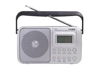 Rádio Relógio Portátil Am/fm/sw1/smw2 Sintonia Digital Alarm