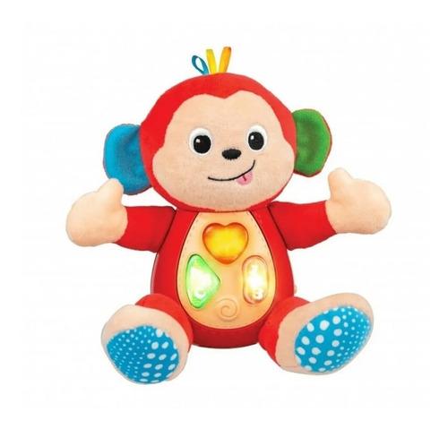 Imagen 1 de 3 de Monito Monkey Soft Canta Y Aprende Winfun  0275