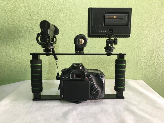 Estabilizador Cage Gaiola Canon Nikon Sony
