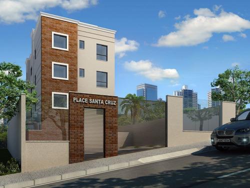 Apartamento Com Área Privativa Com 2 Quartos Para Comprar No Santa Cruz Em Belo Horizonte/mg - 16297