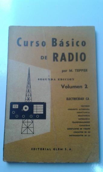 Livro Curso Básico De Radio Vol 2 - M. Tepper - Em Espanhol
