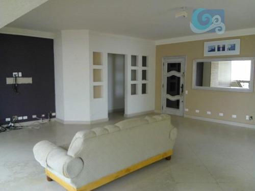 Imagem 1 de 10 de Apartamento Para Venda E Locação, Praia Das Pitangueiras - Guarujá - Ap3777