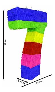 Aurabeam Piñata Mexicana Número Siete Festivo