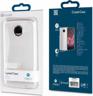 Funda Moto G5 Plus Crystal Case Muvit M4de Original