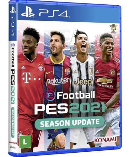 Pes 2021 Efootball Pro Evolution Soccer 2021 - Ps4 Lacrado