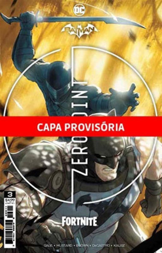 Imagem 1 de 1 de Batman/fortnite Vol. 3 - Vol. 3