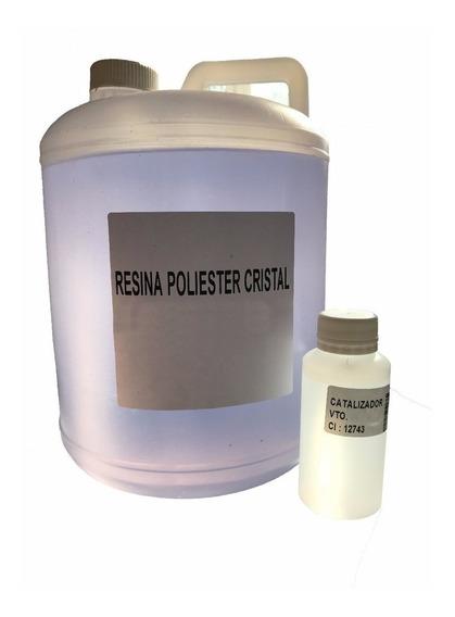 1 Kg. Resina Cristal Poliester P Todo Tipo De Encapsulados