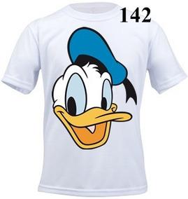 Camiseta Infantil Personalizada Pato Donald