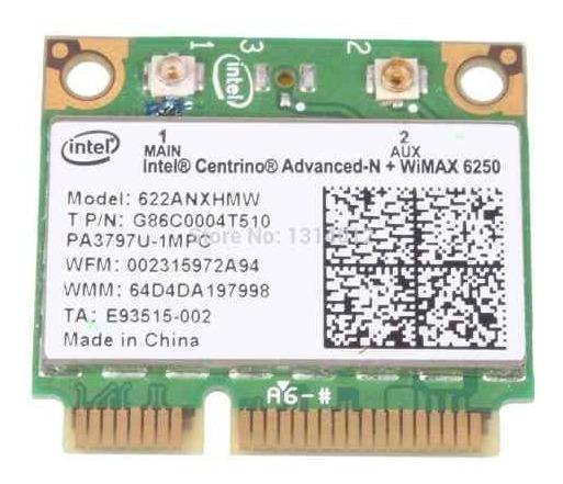 Wifi Intel Centrino N + Wimax 6250 622anxhmw Nova Com Nf-e