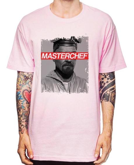 Camiseta Breaking Bad Heisenberg Chef De Cozinha