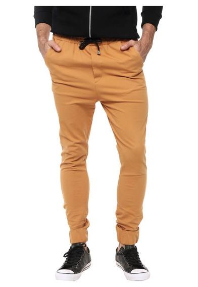 Envío Gratis Pantalón Gabardina Jogger Hombre Varios Colores