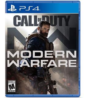 Call Of Duty Modern Warfare + Poster Playstation 4