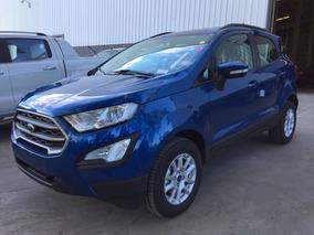 Ford Ecosport Se 2018 1.5 Nafta 0 Km Azul Anticipo Y Cuotas