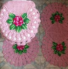 Kit Banheiro(croche)