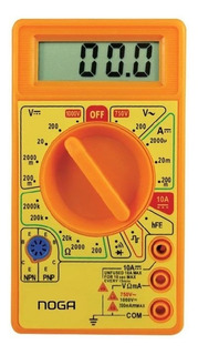 Tester Digital Multimetro Digital Buzzer Corriente Noga 830d