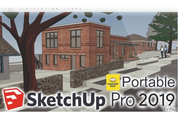 Sketchup 2019 Full + Vray Next 4.0