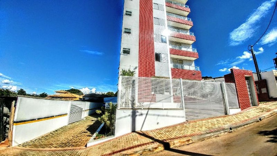Linda Cobertura Nova Com Linda Vista Para A Lagoa Central! - 2862