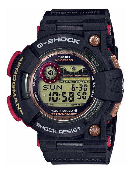 Relógio Casio G-shock Frogman Mama 35th Gwf-1035f-1jr
