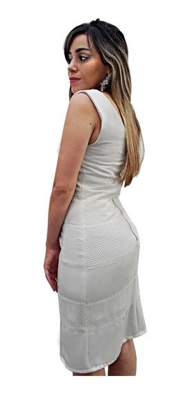 Vestido Corto Blanco Red